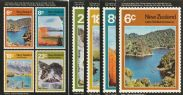 NZ SG(993-6) Stamp Postcard Series 1: Lake Scenes set of 5